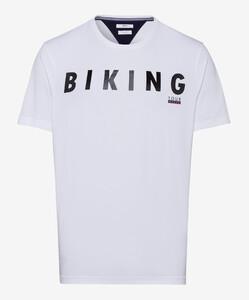 Brax Taylor Biking T-Shirt Wit