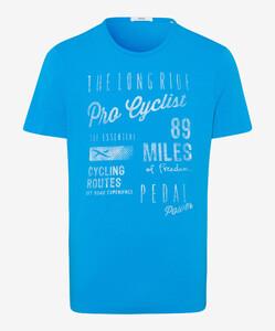 Brax Taylor Shirt T-Shirt Water