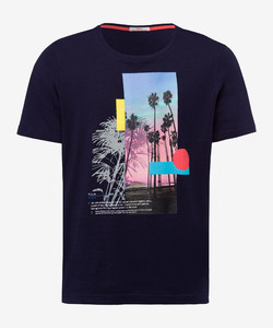 Brax Taylor T-Shirt Ocean
