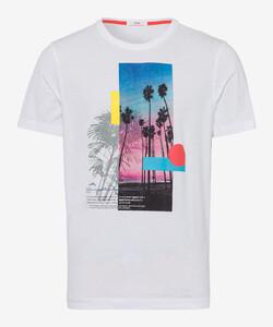 Brax Taylor T-Shirt Wit