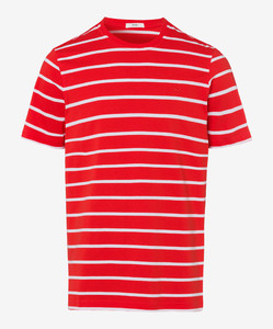 Brax Troy Striped T-Shirt T-Shirt Heat