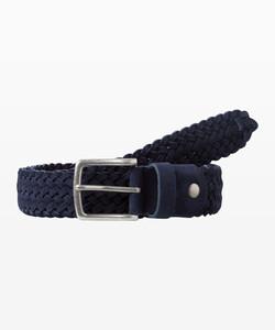 Brax Woven Uni Belt Riem Navy