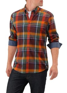 Maerz Flanel Optiek Check Cabernet