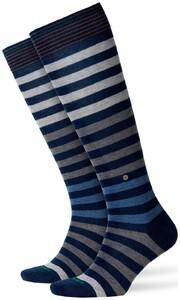 Burlington Blackpool Knee-Highs Dark Blue Extra Melange