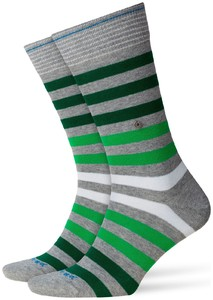 Burlington Blackpool Socks Light Grey Contrast
