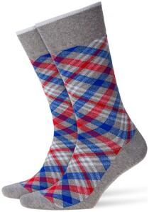 Burlington Cadogan Socks Melange Grey