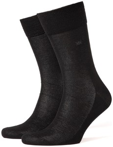 Burlington Cardiff Socks Black