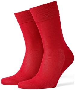 Burlington Cardiff Socks Brilliant Red