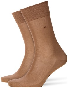 Burlington Cardiff Socks Camel Melange