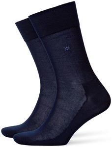 Burlington Cardiff Socks Marine