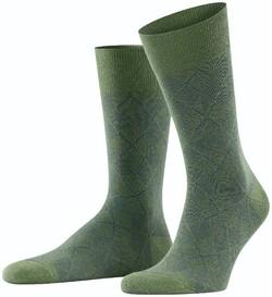 Burlington Carrington Socks Khaki