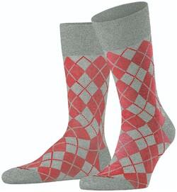 Burlington Carrington Socks Light Grey