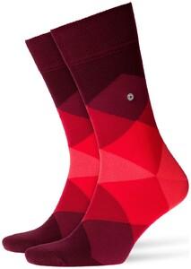 Burlington Clyde Socks Claret