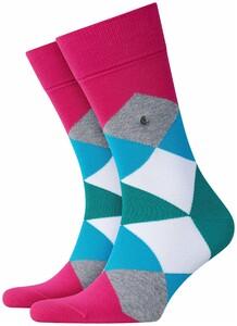 Burlington Clyde Socks Fuchsia
