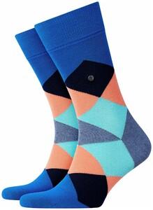 Burlington Clyde Socks Lapis Blue