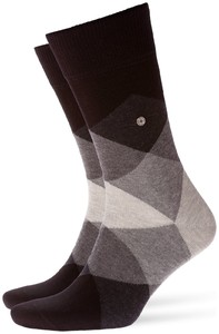 Burlington Clyde Socks Near Black