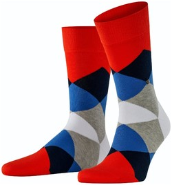 Burlington Clyde Socks Peony Red