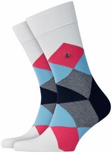 Burlington Clyde Socks White Melange