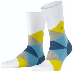 Burlington Clyde Socks White Ultra