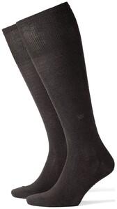 Burlington Dublin Knee-Highs Anthracite Grey
