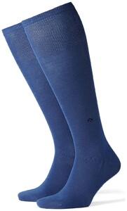 Burlington Dublin Knee-Highs Royal Blue Melange
