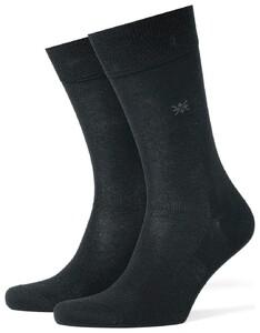 Burlington Dublin Socks Black