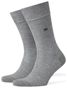 Burlington Dublin Socks Grey Light Melange