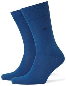 Burlington Dublin Sokken Royal Blue Melange