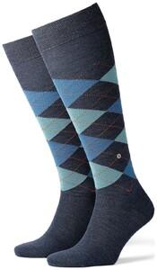 Burlington Edinburgh Knee-Highs Dark Blue