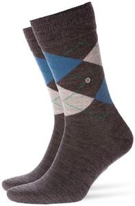Burlington Edinburgh Socks Melange Anthracite