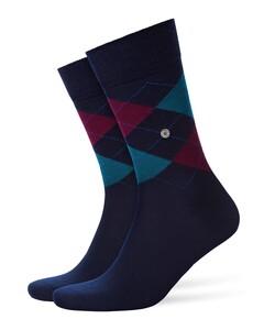 Burlington Edinburgh Socks Midnight Navy