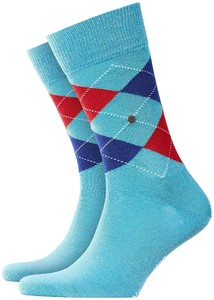 Burlington Edinburgh Socks Night Marine Melange