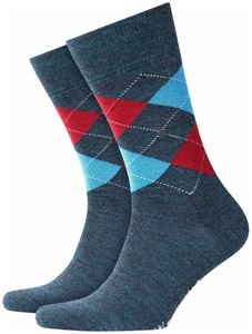 Burlington Edinburgh Socks Scarab Melange