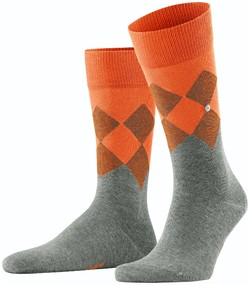 Burlington Hampstead Socks Light Grey