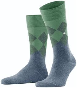 Burlington Hampstead Socks Ocean Melange