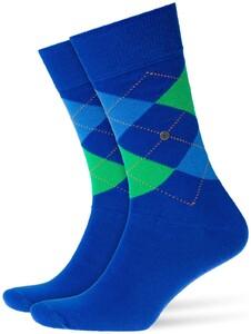 Burlington King Socks Sokken Deep Royal Blue