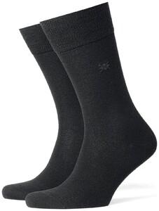 Burlington Leeds Socks Black