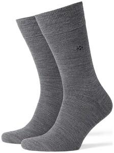 Burlington Leeds Socks Extra Dark Grey Melange