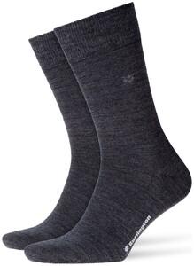 Burlington Leeds Socks Granite Grey
