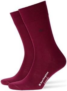 Burlington Leeds Socks Merlot