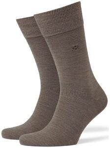 Burlington Leeds Socks Pebble