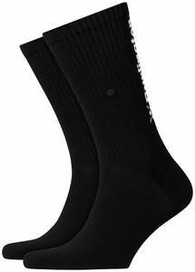 Burlington Logo Back Socks Black