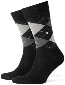 Burlington Manchester Socks Black