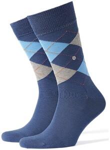 Burlington Manchester Socks Blueberry