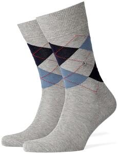 Burlington Manchester Socks Foggy Dew