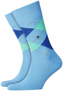 Burlington Manchester Socks Light Sapphire