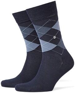 Burlington Manchester Socks Marine