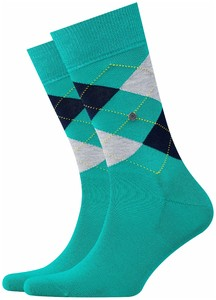 Burlington Manchester Socks Pepper Green