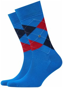 Burlington Manchester Socks Prussian Blue