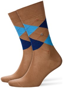 Burlington Manchester Socks Rosewood